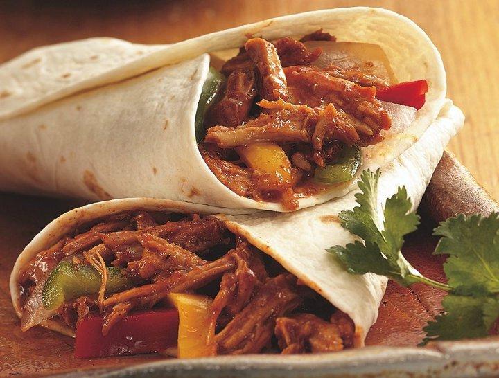 recetas fáciles - burrito mexicano